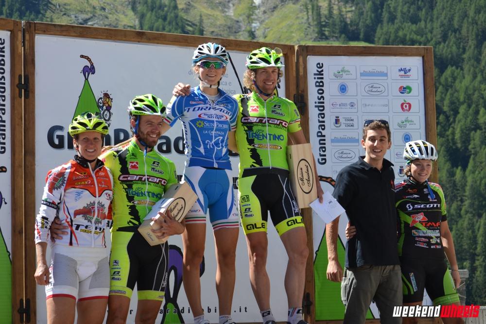 granparadiso_bike_2013_podio_uomo_donne