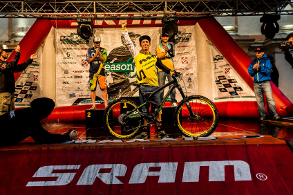 during the final stop of the EWS, Finale, Italy.