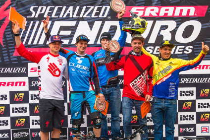 Terlago Specialized-Sram Enduro series podium