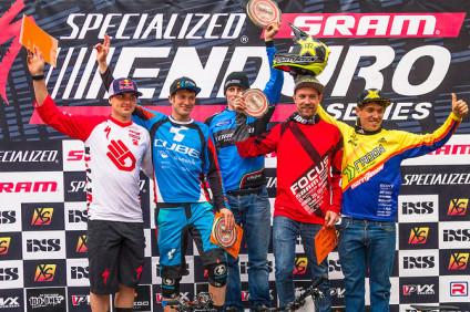 Terlago Specialized-Sram Enduro series podium