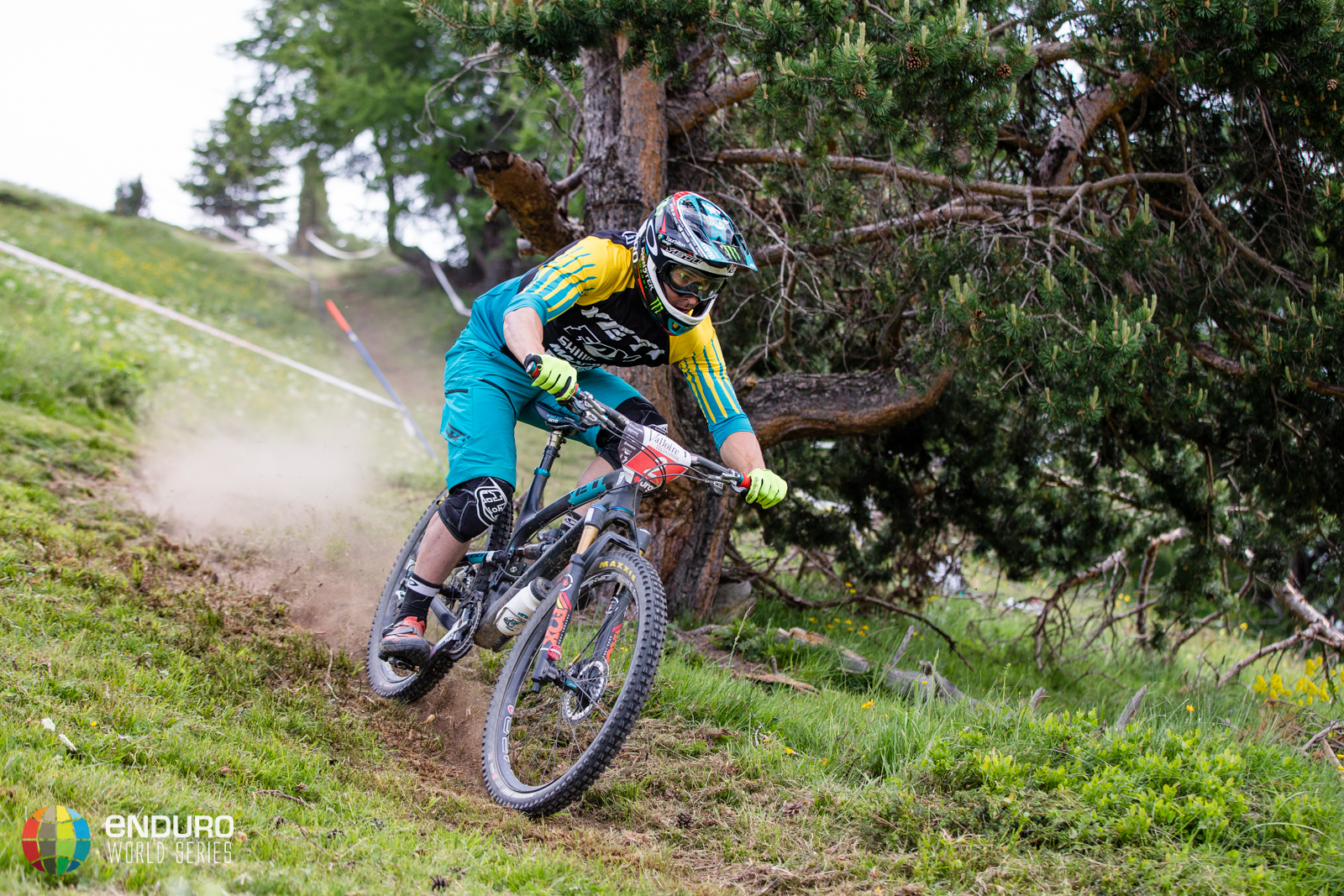 Jared Graves on stage four, EWS round 3 2014, Valloire. Photo by Matt Wragg