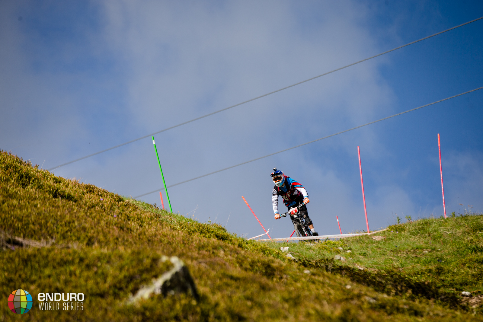 Nico Vouilloz on stage three, EWS round 3 2014, Valloire. Photo by Matt Wragg