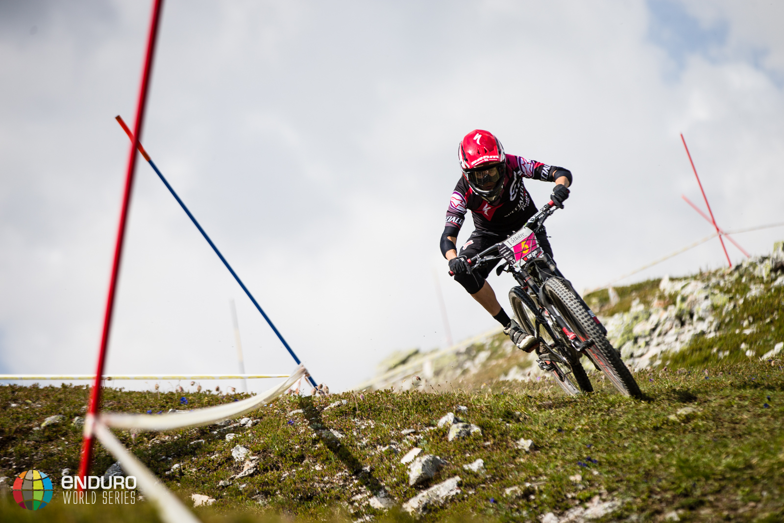 Anneke Beerten on stage three, EWS round 3 2014, Valloire. Photo by Matt Wragg