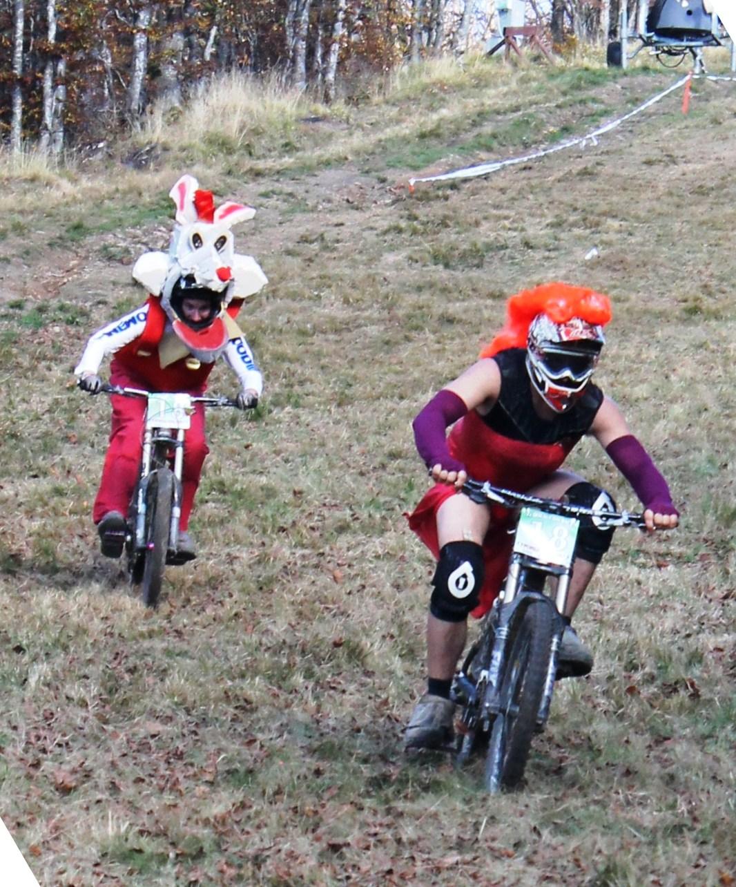 doganaccia_double_dh_race_2014_jessica e roger rabbit