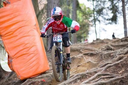 iXS CUP Veronika Widmann - EDC Kranjska Gora 2016
